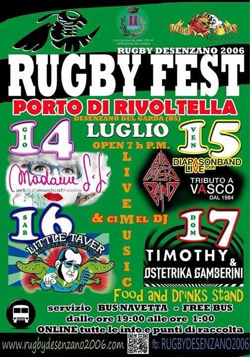 Rugby 2016 Rivoltella del Garda
