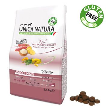 Unico Maxi - Anatra, Riso e Patate